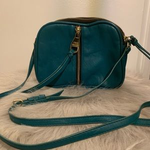 Steve Madden Mini Crossbody Bag- Teal